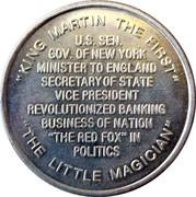 Token - Martin Van Buren (8th President) – reverse