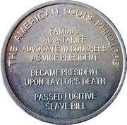 Token - Millard Fillmore (13th President) – reverse