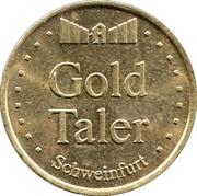 Gold Taler - Apotheke im Marktkauf (Schweinfurt) – reverse