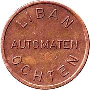Vending Machine Token - Liban Automaten (Ochten) – reverse