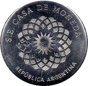 Token - 30th Anniversary of the South Atlantic War – reverse