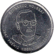 Token - Argentine Heroes of Knowledge (Bernardo Houssay) – obverse