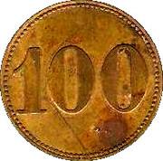 Token - Café de la Rotonde (100) – reverse