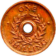 1 Shilling (Hay Internment Camp Token) – reverse