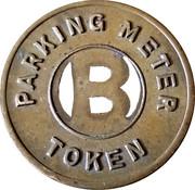 Parking Meter Token - Bridgeville Trust Company – reverse