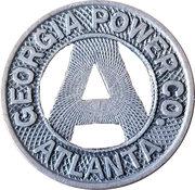 1 Fare - Georgia Power Co. (Atlanta, Georgia) – obverse