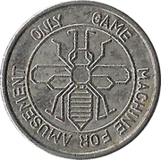 Amusement Token - Game Machine – reverse