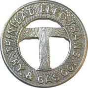 1 City Fare - Trinidad Electic Transmission Railway & Gas Co. (Trinidad, CO) – obverse