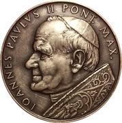 Medal - Ioannes Paulus II (Visit in Bratislava 1990) – obverse