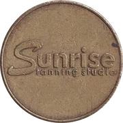 Token - Sunrise Tanning Studio – obverse