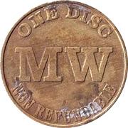 Token - MW One Disc – obverse