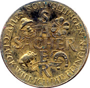 New Year Lucky Token - Sacher – reverse