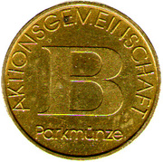 Parking Token - Bischofshofen – reverse