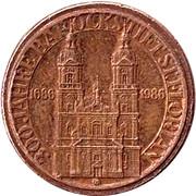 Token - Barockstift St. Florian (300 years) – reverse