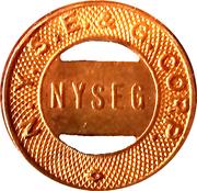 Token - NYSEG N.Y.S.E. & G. Corp. (Elmira School) – obverse