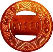 Token - NYSEG N.Y.S.E. & G. Corp. (Elmira School) – reverse