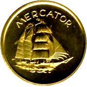 Token - Barquentine Mercator – obverse