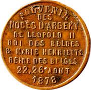 Token - Leopold II – reverse