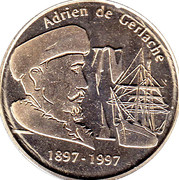 Token - Adrien de Gerlache – reverse
