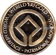 Token - World Heritage (Belforten) – reverse