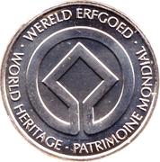Token - World Heritage (Plantin Moretus) – reverse