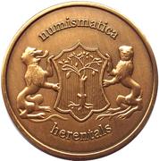 Welkomstpenning - Numismatica Herentals – obverse