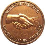 Welkomstpenning - Numismatica Herentals – reverse