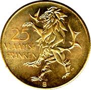 25 Vlaamse Franken - Vlaanderen – reverse
