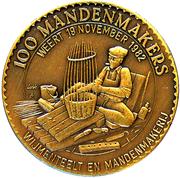100 Mandenmakers – reverse