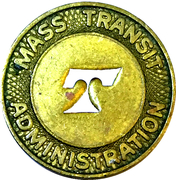 1 Fare - Mass Transit Administration (Baltimore, MD) – obverse