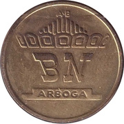 Token - BN Arboga – reverse