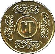 Vending Machine Token - Coca-Cola (CT - Curitiba, Paraná) – obverse