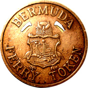 Bermuda Ferry Token - Somerset Route – obverse