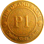 1 Pula - The Grand Palm Casino – reverse