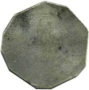Medal - Vencedores del Callao (Trial die) – reverse