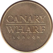 Parking Token - Canary Wharf London (25.5 mm) – obverse