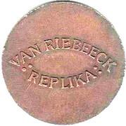 Token - Van Riebeeck Coffee replica (Doit, Hollandia) – reverse