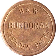 Token - Bundoran Pleasure Parks H&W – obverse