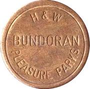 Token - Bundoran Pleasure Parks H&W – obverse