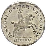 Counter Token - Alexander I (Barclay de Tolly) – reverse