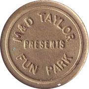 Amusement Token - M&D Taylor Fun Park (Strathclyde, Scotland) – obverse