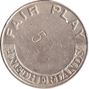 Token - Fair Play The Netherlands – reverse