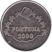 Game Token - Fortuna 2000 – obverse