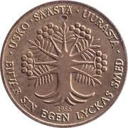 Token - Postisäästöpankin Onnenraha – reverse