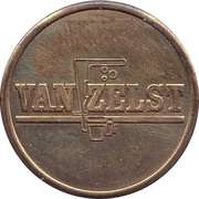 Vending Machine Token - Van Zelst – reverse