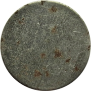 Blank Token (White metal; without rim; magnetic; 20 mm) – obverse