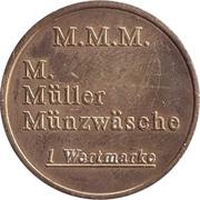 Token - M. Müller Münzwäsche (M.M.M.) – obverse