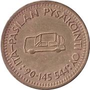 Parking Token - Pasilan Pysäköinti Oy – reverse
