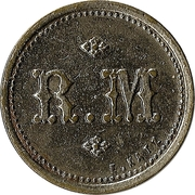 75 Centimes - A Consommer (R.M.) – obverse