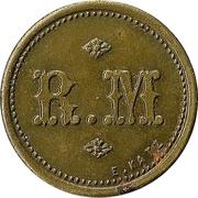 50 Centimes - R. M. – obverse